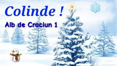 Alb de Craciun - Colinde