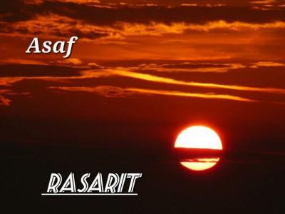 Asaf - Rasarit