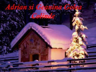 Adrian si Geanina Golea - Colinde