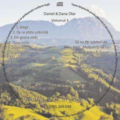 Daniel & Dana Olar - Mulțumesc! Vol. 3 (2020)