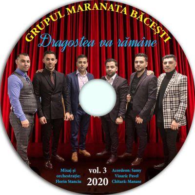 Grupul Maranata Băcești - Dragostea va Rămâne Vol. 3 (2020)