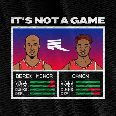 Derek Minor - It's Not a Game (2018)