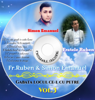 Ruben si Simon Emanuel - Gabata Locul Ce-l Cu Petre Vol.3 (2017)