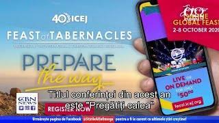 Sărbătoarea Corturilor, online | Știre Alfa Omega TV