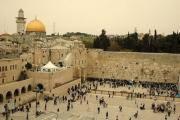 IERUSALIM: Zidul Plângerii  redeschis pentru rugăciuni