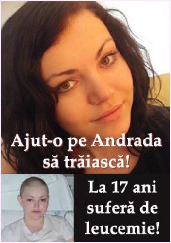 Viața Andradei depinde de tratamentul din 15 iunie