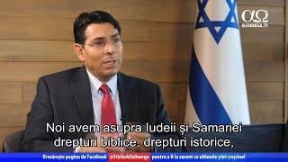 Interviu în exclusivitate cu ambasadorul Israelului la ONU | Știre Jerusalem Dateline