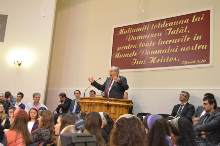 Iosif Țon la Biserica Română Bruxelles