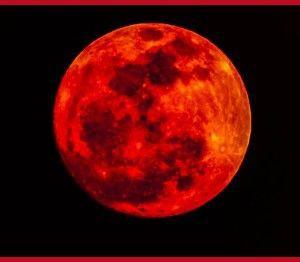Cu ocazia a patru sărbători evreieşti, luna se va transforma în sânge