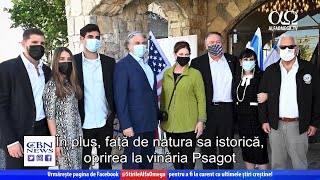 Secretarul de stat al SUA face o vizită istorică în Cisiordania | Știre Alfa Omega TV