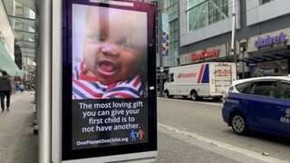 O reclamă încurajează familiile să aibă un singur copil   AO NEWS