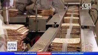 Matzah - pâinea nedospită pe care evreii o mănâncă de Paște