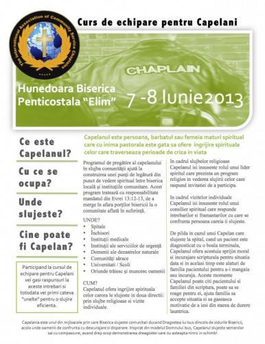 Conferința capelanilor la Hunedoara