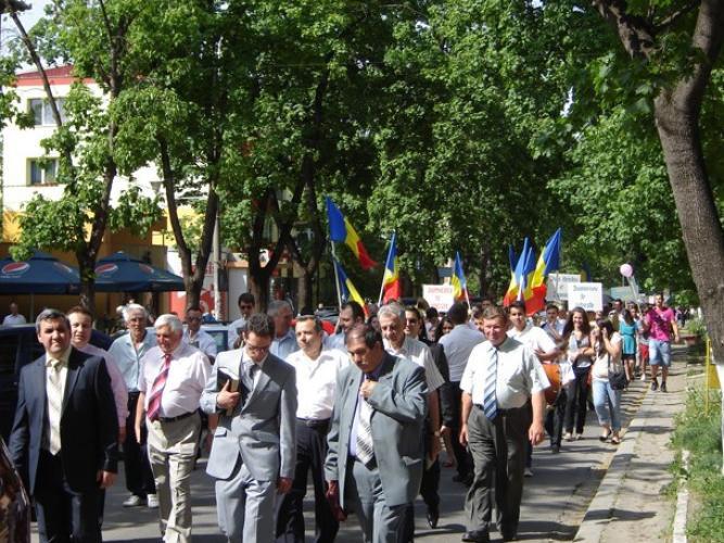 Marşul Învierii 2013 la Hunedoara