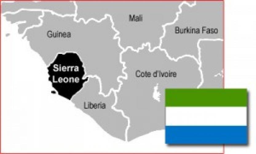 SIERRA LEONE: 150 de noi creștini botezați
