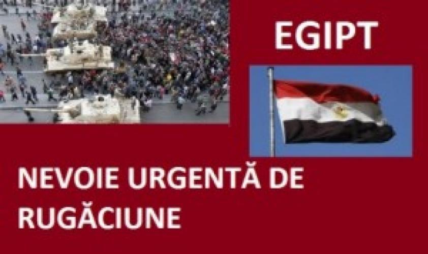 Să ne rugăm pentru Egipt