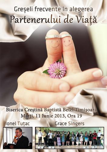 Ionel Tuțac și Grace Singers la Biserica Baptistă Betel Timișoara