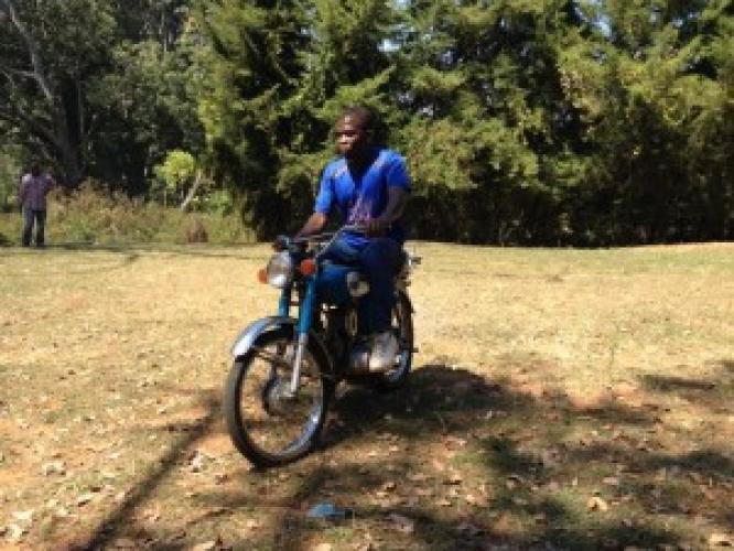 O motocicletă pentru un misionar