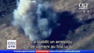 3 săptămâni de luptă între Armenia și Azerbaidjan | Știre Alfa Omega TV