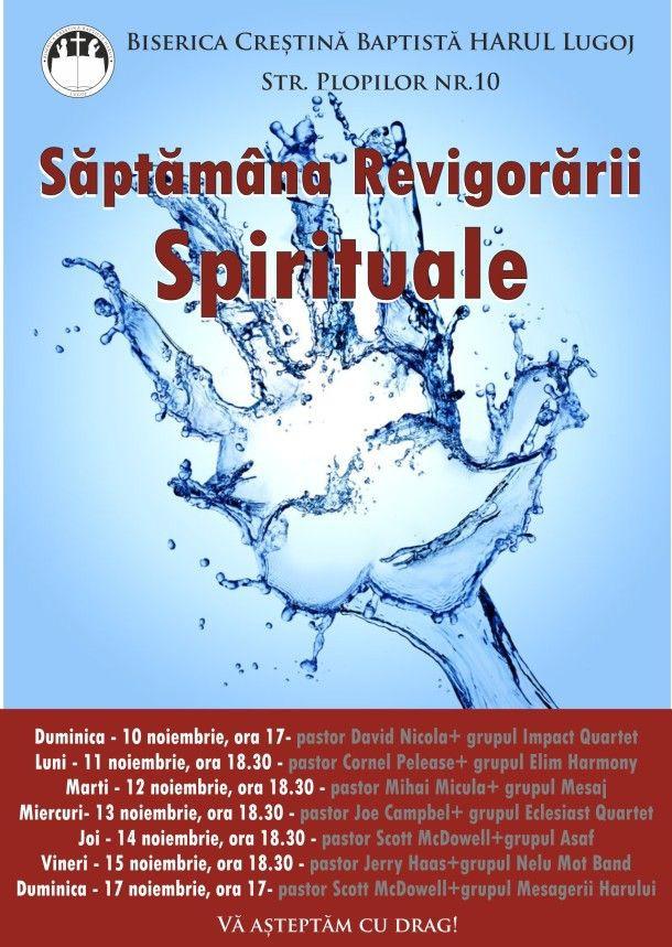 Săptămâna Revigorării Spirituale – Lugoj
