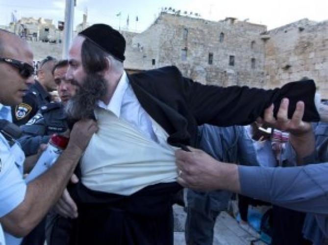 ISRAEL: Conflicte la Zidul Plângerii