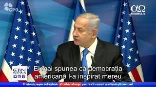 Netanyahu i-a mulțumit președintelui Trump