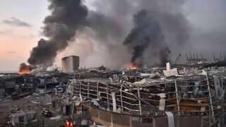 Beirut a fost zguduit de o explozie masivă | AO NEWS