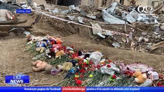 Slujind familiile afectate de război în Azerbaidjan | Știre Alfa Omega TV