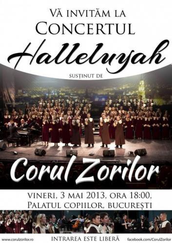 Concert Corul Zorilor la București și Alba Iulia