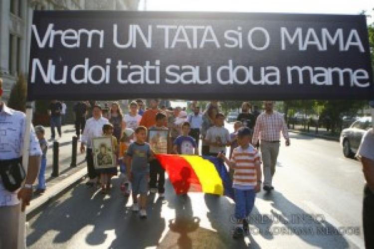Marșul pentru normalitate la București