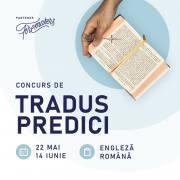 Concurs de traduceri predici din limba engleză, 22 Mai - 14 Iunie 2020