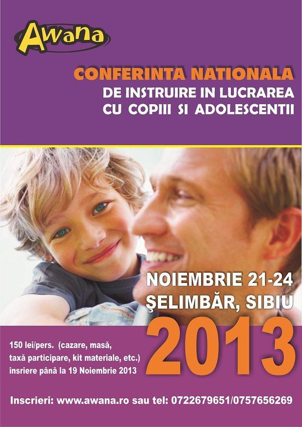 Conferința națională Awana 2013