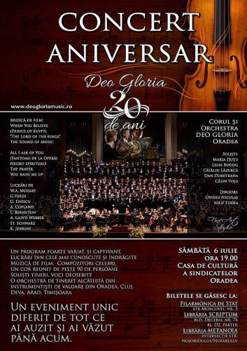 Concert aniversar Deo Gloria la Oradea și Timișoara