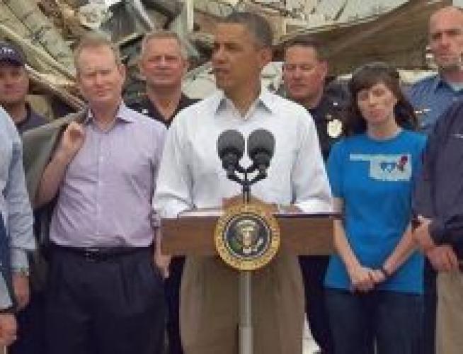 Obama a citit din Biblie în mijlocul ruinelor de după uraganul din statul Oklahoma