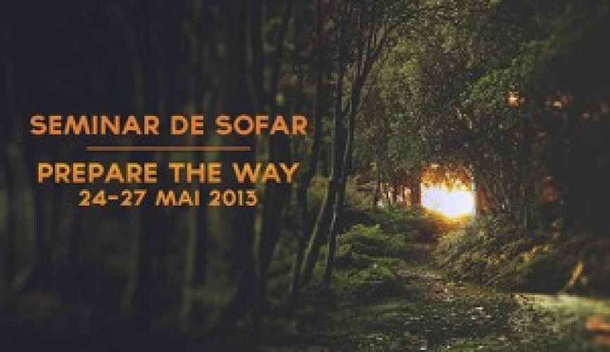 "Seminar de șofar – ""Prepare the way"""