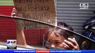 În Filipine, copiii cerșesc mâncare   Știre Mapamond Creștin