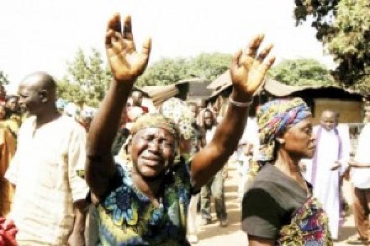 Rugăciune în urma noului atac asupra satului nigerian Zangan